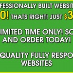$300 Website! Special Offer For A Limited Time!